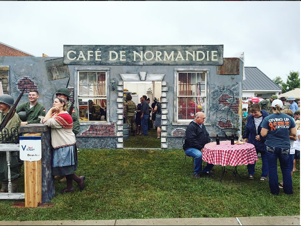 Remembering WWII Cafe de Normandy