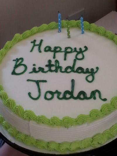 Happy Birthday Jordan Cake Atletischsport